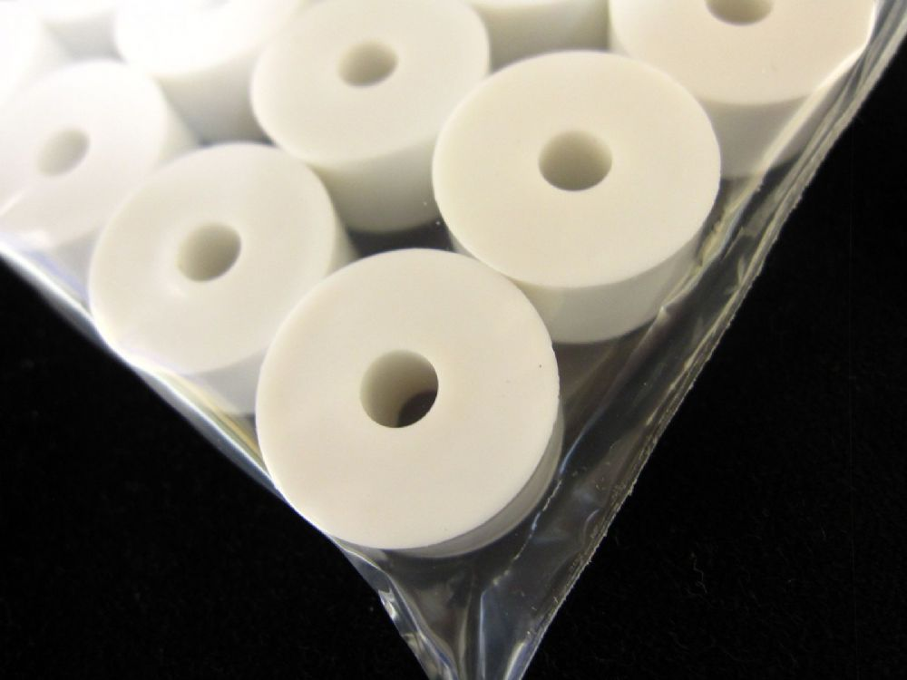20 Curtain Track Bracket Spacers Blind Washers Discs